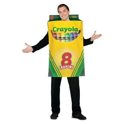 Adult Crayola Crayon Box Costume - One Size Fits Most