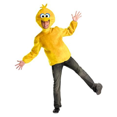 Adult Sesame Street Big Bird Male Costume - X-Large (42-46)