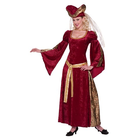Women's Lady Anne Costume - One Size Fits Most Adults