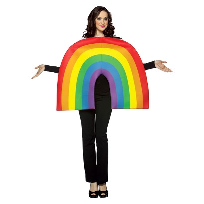 Adult Rainbow Costume - One Size Fits Most Adults