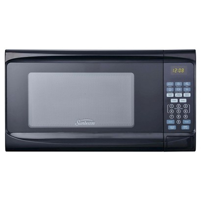 Sunbeam 0.7 Cu. Ft. Digital Microwave Oven  - Black