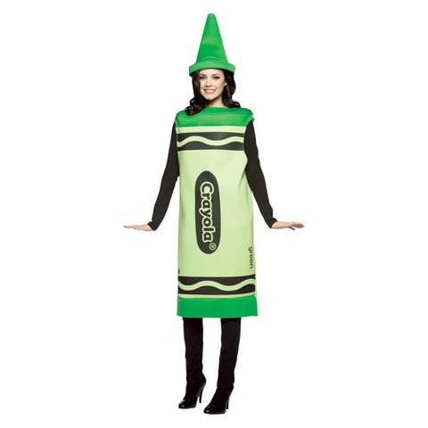 Adult Crayola Green Crayon Costume