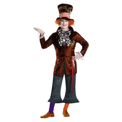 Men's Alice In Wonderland Mad Hatter Prestige Costume - Standard (42-46)