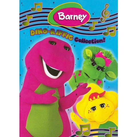Barney: Dino-Riffic Collection! (3 Discs)