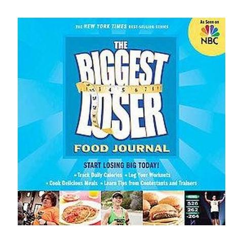 The Biggest Loser Food Journal (Notebook / blank book)