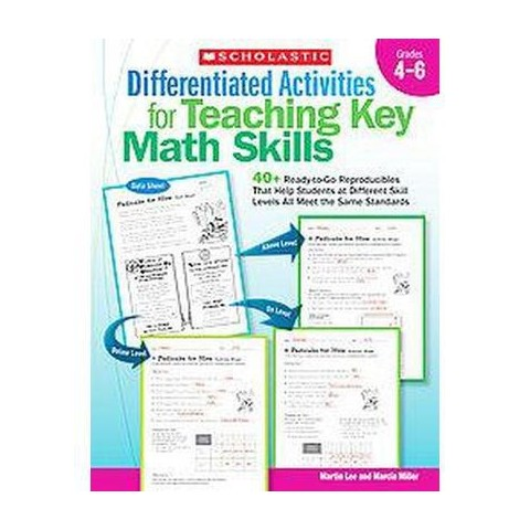Differentiated Activities for Teaching Key Math Skills: Grades 4-6 (Paperback)