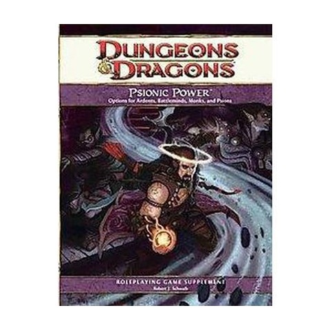 Dungeons & Dragons Psionic Power (Hardcover)
