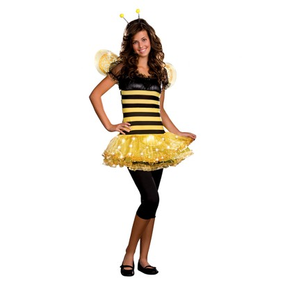Teen Girl's Busy Lil' Bee Light Up Costume