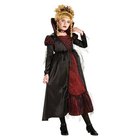 Girl's Transylvanian Vampiress Costume