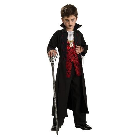 Boy's Royal Vampire Costume