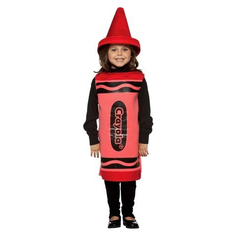 Kids' Crayola Crayon Costume - Red