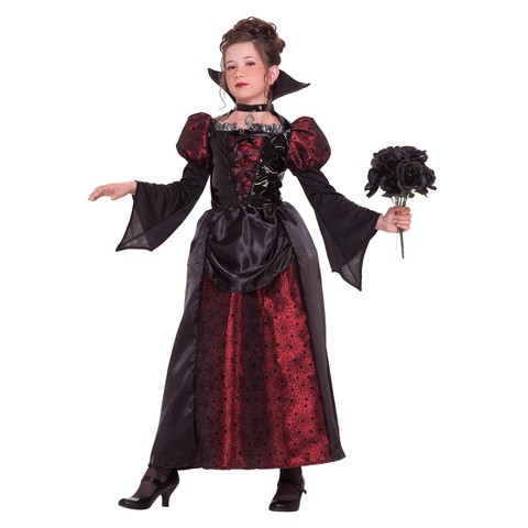 Girl's Miss Vampire Costume
