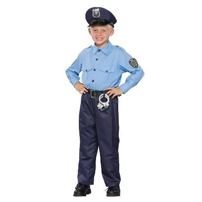 Boy's Policeman Deluxe Costume