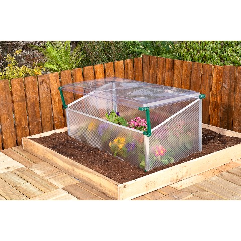 Basic Cold Frame Greenhouse -1.5'x3'