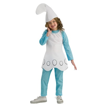 Girl's The Smurfs Smurfette Costume