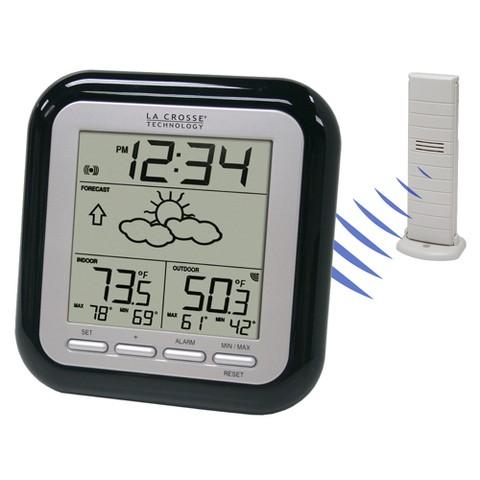 La Crosse Technology Wireless Forecast Station - BlackWS-9133BK-IT-CBP