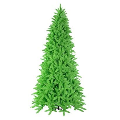 9' Pre-Lit Chartruese Ashley Tree - Clear Lights