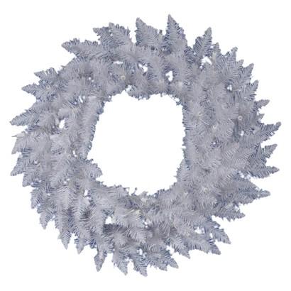 """Spruce Wreath - White (30"""")"""