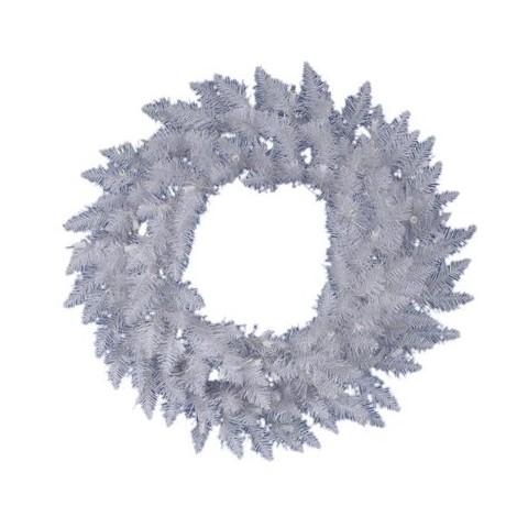 """Spruce Wreath - White (24"""")"""