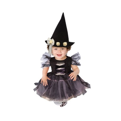 Infant/Toddler Lace Witch Costume