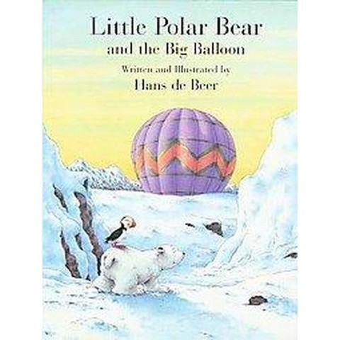 Little Polar Bear and the Big Balloon ( Little Polar Bear) (Reprint) (Paperback)