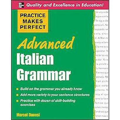 Advanced Italian Grammar (Bilingual) (Paperback)