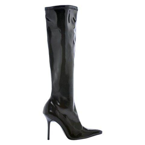 Sassy Emma Adult Boots - Black