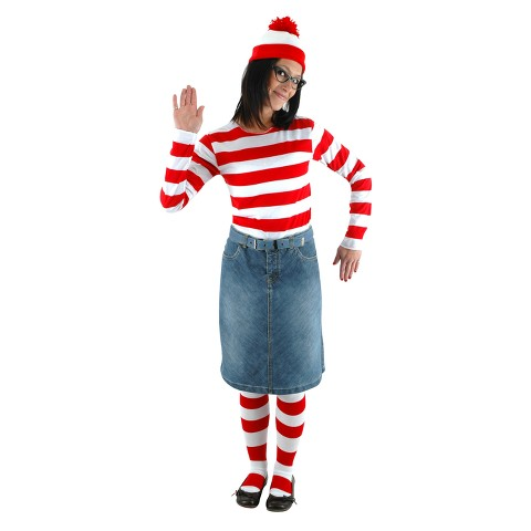 Women's Where's Waldo? Wenda Costume Kit