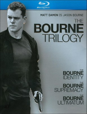 The Bourne Trilogy [3 Discs] [Blu-ray]