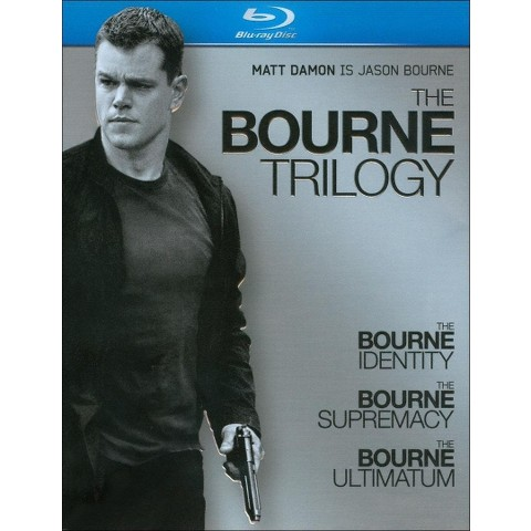 The Bourne Trilogy (3 Discs) (Blu-ray)