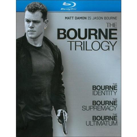 The Bourne Trilogy [3 Discs] [Blu-ray]