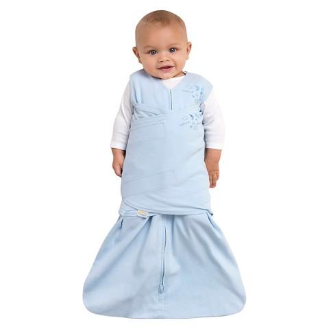 HALO SleepSack 100% Cotton Swaddle - Baby Blue - Small