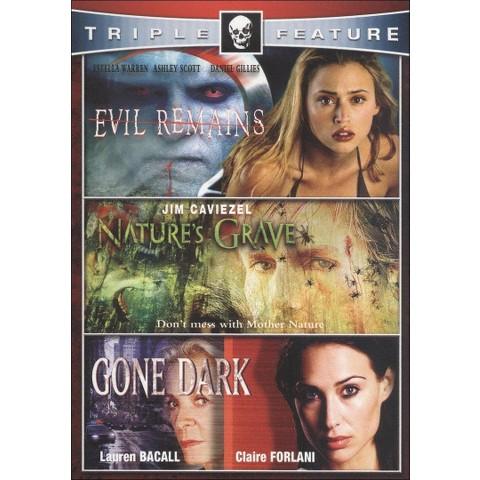 Nature's Grave/Evil Remains/Gone Dark (2 Discs)
