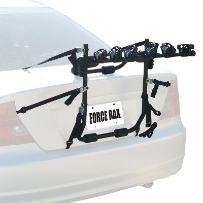 Force Rax 3 Bike Storage Trunk Mount Rack - Black