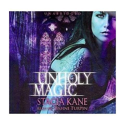 Unholy Magic (Unabridged) (Compact Disc)