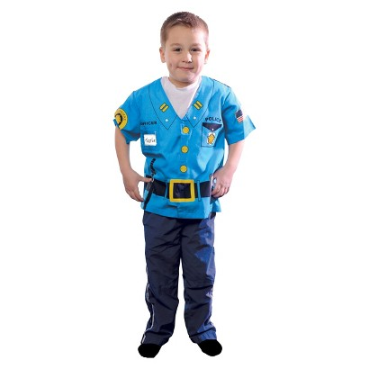 Toddler My First Career Gear - Police  Costume - 4T-5T