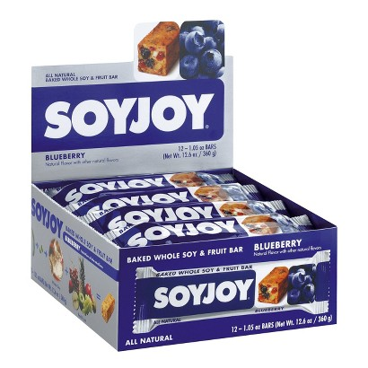 SoyJoy® Blueberry Whole Soy and Fruit Bar - 12 Count (1.05 oz)