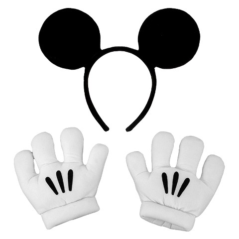 Disney Mickey Ears with Gloves Set Child