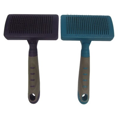 Cleaning Slicker Dog Brush M Colors May Vary - Boots & Barkley™