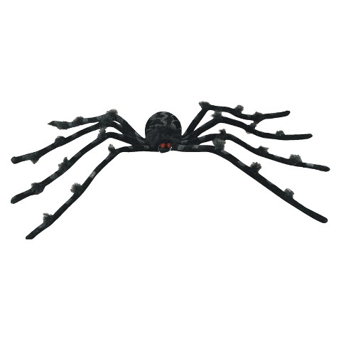 "Black 30"" Posable Spider"