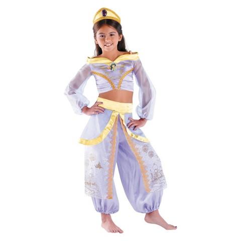 Girls' Storybook Jasmine Prestige Costume