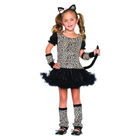 Girls' Little Leopard Costume
