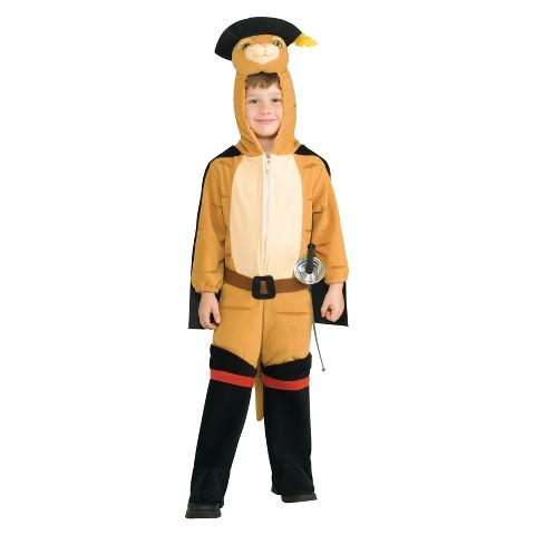 Toddler Boy Shrek Poss'n Boots Deluxe Costume 2T-4T