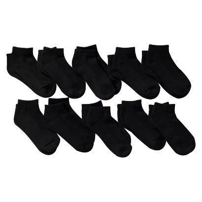 Boy's 10 Pack Low Cut Socks