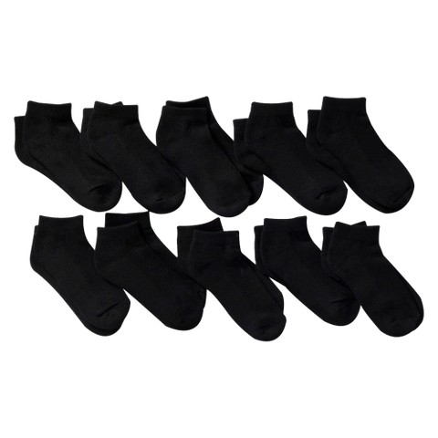 Boys' 10 Pack Low Cut Socks