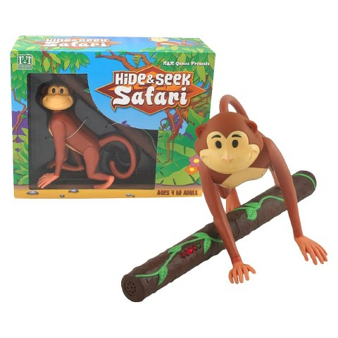 R&R Games Hide & Seek Safari -Monkey
