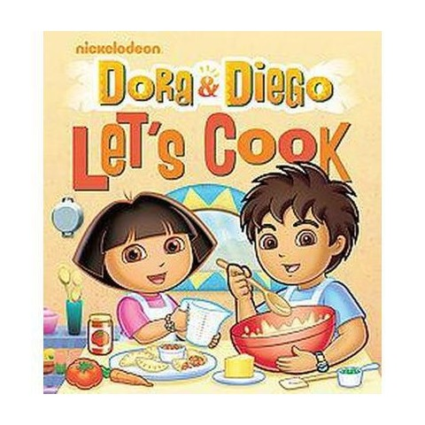Dora and Diego Let's Cook! (Spiral)