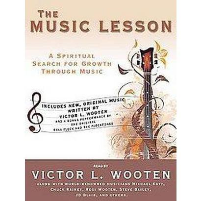 The Music Lesson (Unabridged) (Compact Disc)