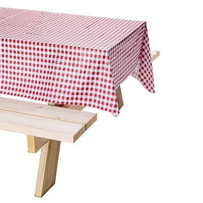Coleman® Tablecloth with 6 Stainless Steel Clamps