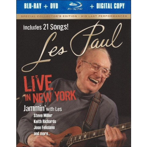 Les Paul: Live in New York (2 Discs) (Includes Digital Copy) (Blu-ray/DVD) (W)